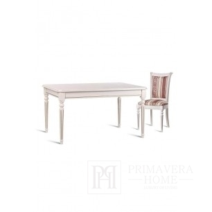 Classic wooden table with the Misty unfolding function