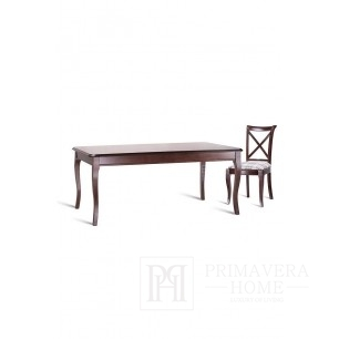 Classic wooden table with folding function Loren