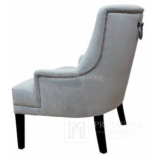 Fotel tapicerowany krzesło styl modern classic nowoczesny EPSOM