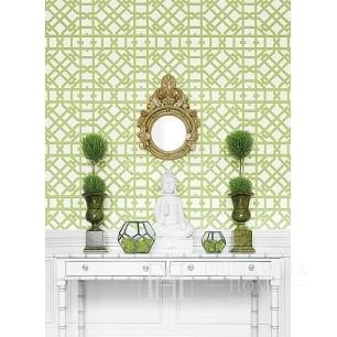 GEOMETRIC RESOURCE Tapeta geometryczna w stylu nowojorskim angielskim amerykańskim BIAŁA SZARA CZARNA NIEBIESKA CZERWONA ZIELONA POMARAŃCZOWA ZŁOTA