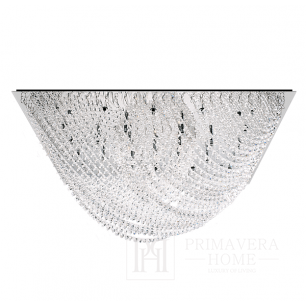 Glamour-style plafond with ELITE crystals O