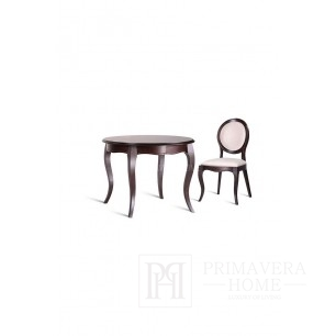 Classic wooden table with folding function Ilona