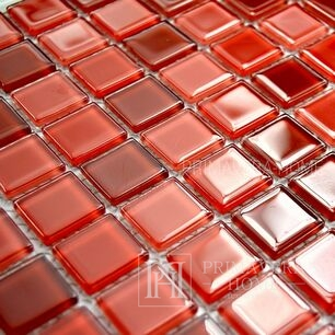Glass mosaic Red Mix Gabriella