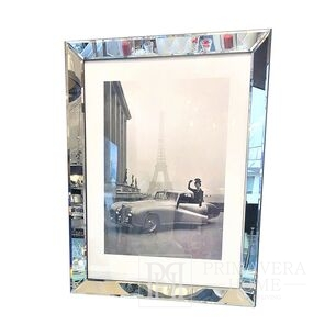 Image in a mirror frame Paris (car) gift for her