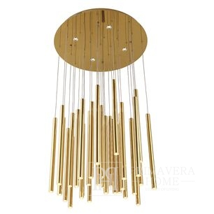 Ponsacco Lampa wisząca złota