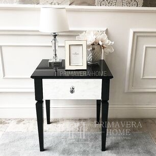 Glamour mirror bedside cabinet Diamond
