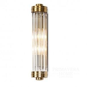 Kinikiet złoty lampa ścienna mosiądz glamour Fabiano