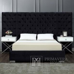 Breites Glamour-Bett mit großem Steppkopfteil Fabio Glamour bedroom style