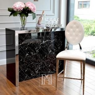 Modern New York white glamor stool MEDALLION OUTLET