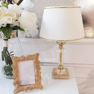 Lampshade with gold trim GOLD GLAM S