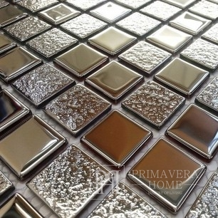 Glassosaic Silber NEL super shine