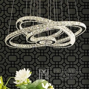 Crystal glamour chandelier ECLIPSE L