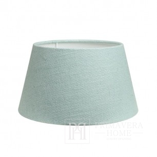 Lampshade in the glamor style, turquoise New York