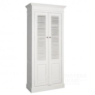 White wardrobe in the Bristol Provencal style hamptons