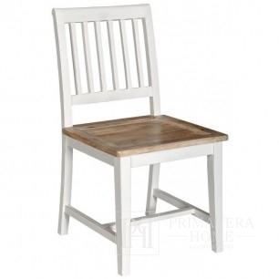 Bristol weißer Stuhl im hinteren Teil der Hamptons