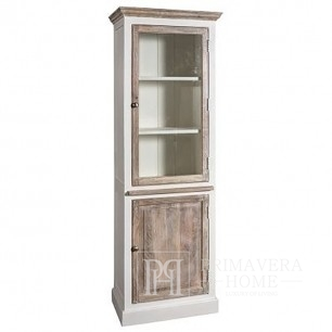 Bookcase, wooden shelf in the Bristol Provencal style