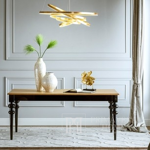 Wooden glamour table for dining room Milano PROMOTION