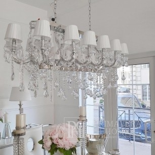 New York glamour crystal chandelier Maria Theresa L