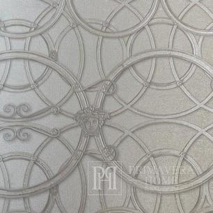 Exklusive tapete Versace Home IV  mit geometrischem ornamentmuster