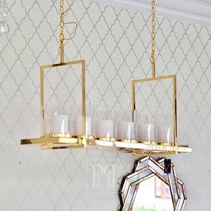 Glamour-Kronleuchter, rustikal modern Gold MODERN
