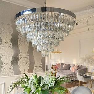 Glamour-Kristall-Kronleuchter  MONACO L