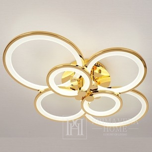 Modern Art Deco Modern Rustic gold LED ceiling lamp for the living room of the bedroom CERICHO