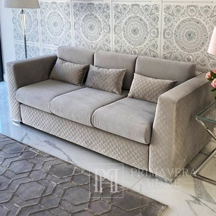 Sofa glamour 3 seater for the living room, dining room, office comfortable COMFORT