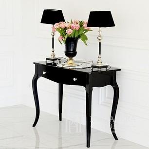 Glamor gloss console, bent legs ELENA GLAMOR black