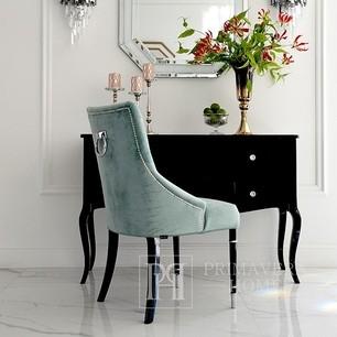 Glamour-Stuhl mit Knockout für das Esszimmer New York modern PRINCE