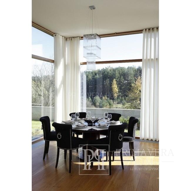 Glamour-Esszimmerstuhl mit Knockout, gepolstert LARGO 90x44x57