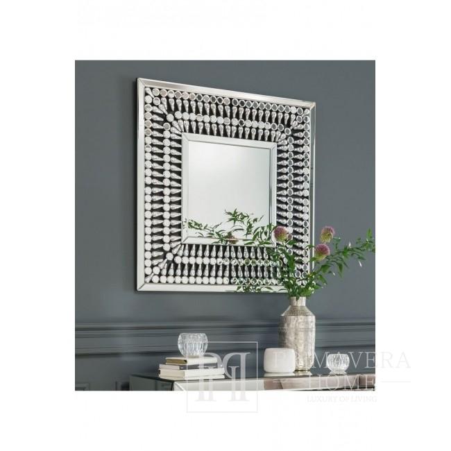 New Yorker Stil dekorative Glamour quadratische Spiegel Kristall