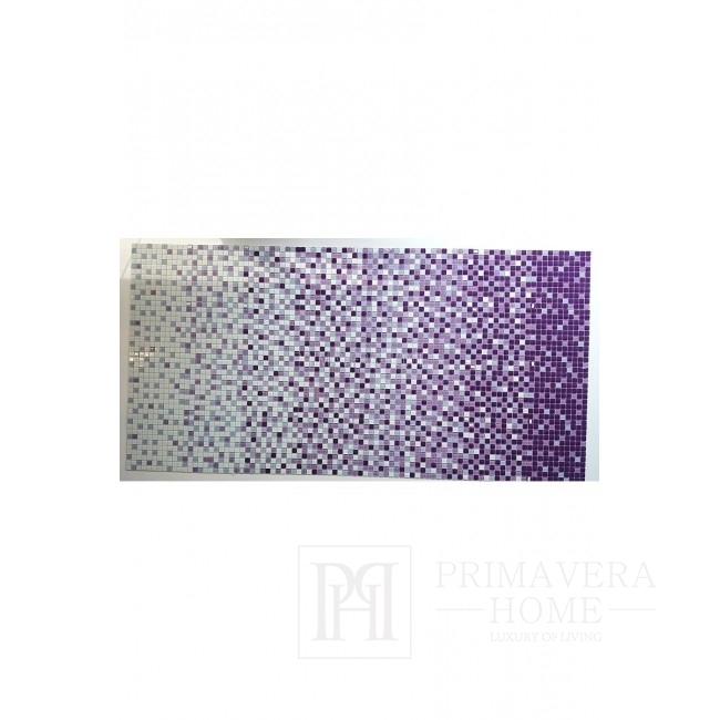 Mozaika szklana Melanż FIOLET WRZOS Florence WYSOKI POŁYSK