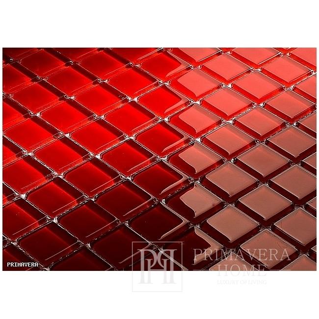 Glass mosaic Red Madallen