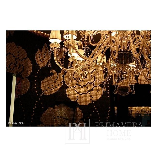 Mozaika szklana  Winter Flowers Oro Nero  brązowa