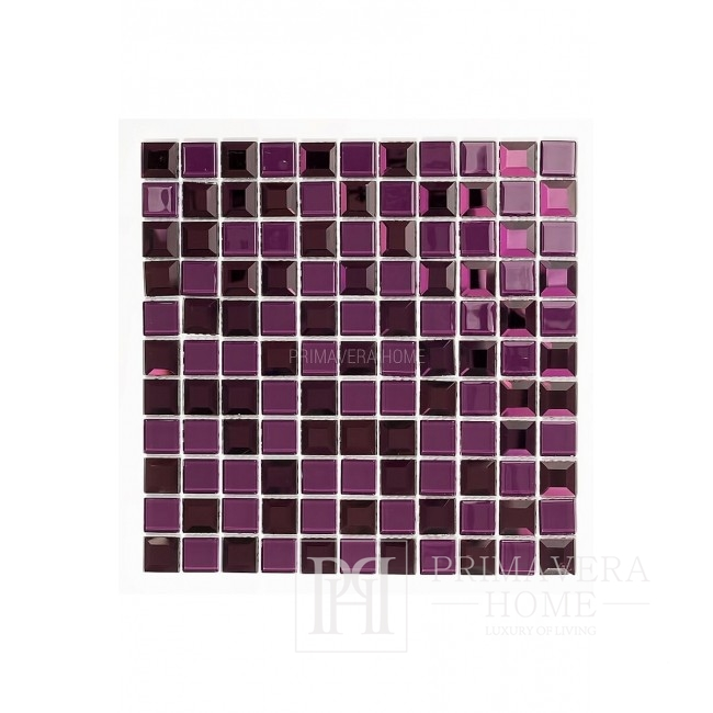 Glass mosaic Diamond Katie Jointless
