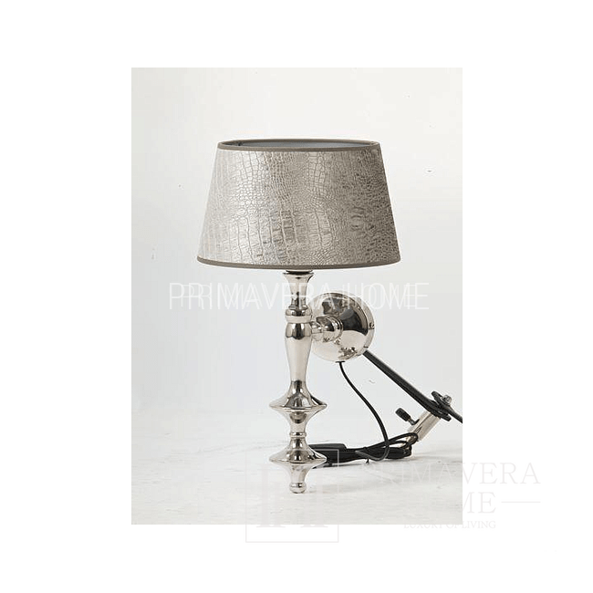 Lampa ścienna kinkiet srebrny niklowany Jonas LL