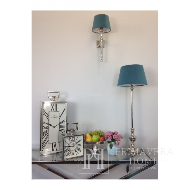 New York City wall lamp silver nickel plated RON
