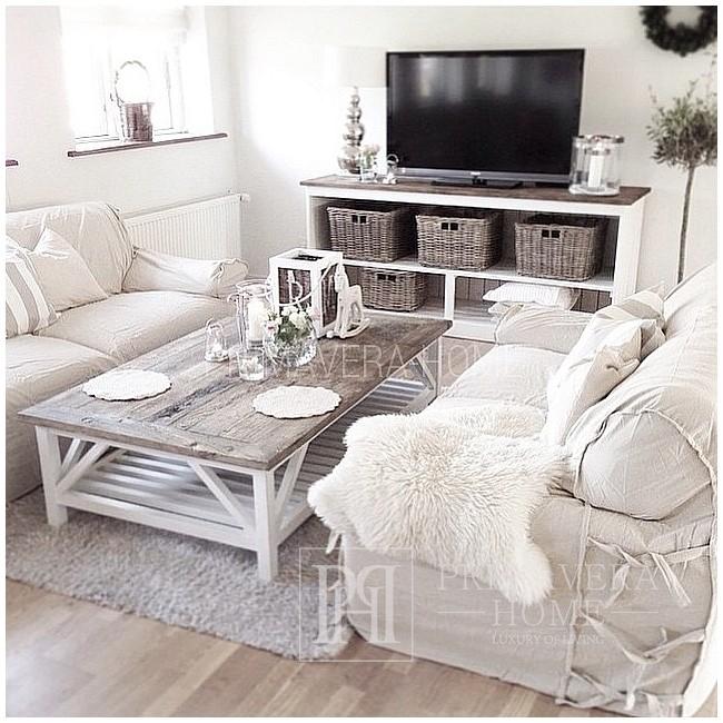 White HAMPTONS sideboard - Provencal style, Hamptons, shabby chic