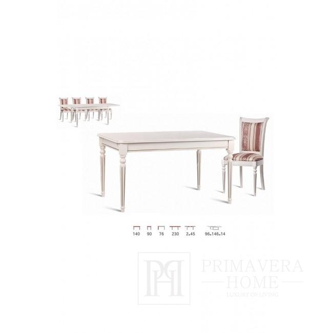 Stół drewniany klasyczny z funkcją rozkładania Misty
