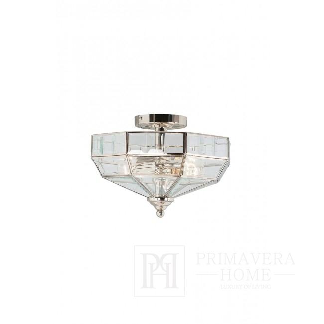 OWEN - Silver chandelier - chrome nickel