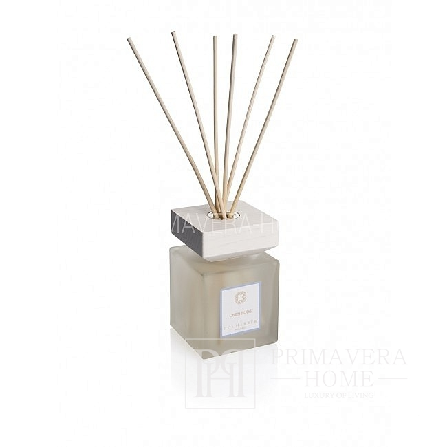 Glass scent diffuser LINEN BUDS gift for companies