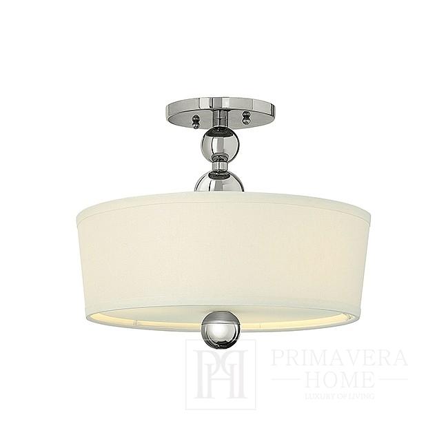 ZEPFIR nickel-plated glamour chandelier