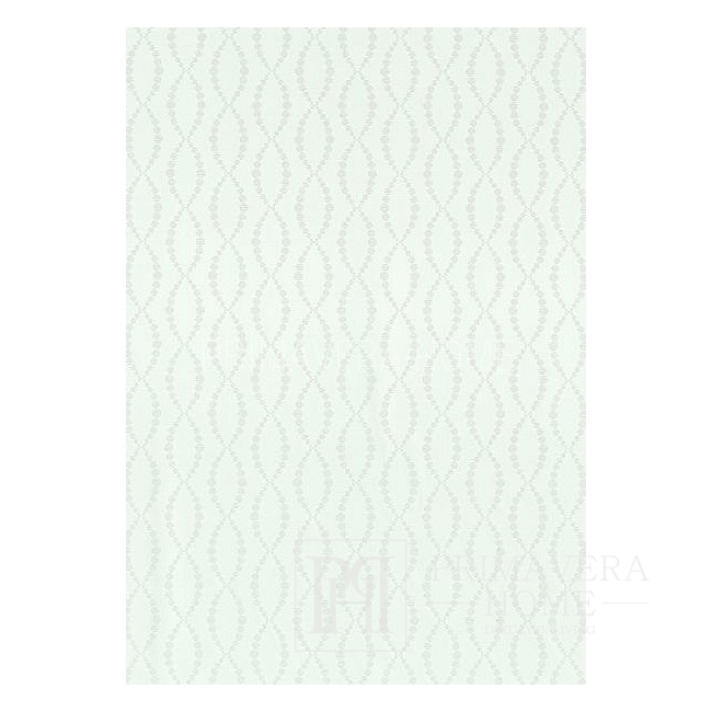 GEOMETRIC RESOURCE Geometric wallpaper in New York style American WHITE CREME BLUE GOLDEN