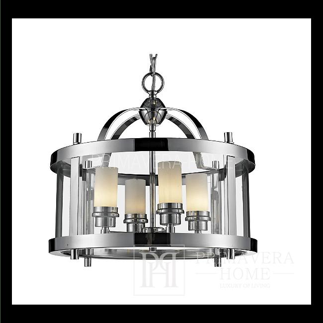 Żyrandol złoty, srebrny, biały, czarny lampa wisząca CHATWIN