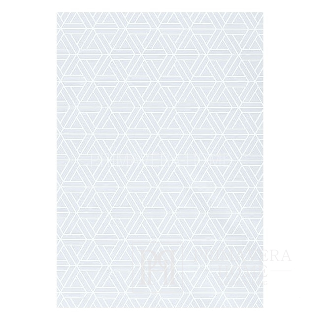 GEOMETRIC RESOURCE Geometric wallpaper in New York style American English Black White Grey GREEN