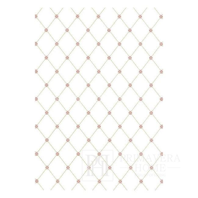 GEOMETRIC RESOURCE New Yorker Stil Geometrische Tapete Amerikanischer Stil Weiß Grau Blau GRÜN SEIDE ROT Braun
