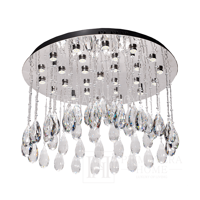 Glamour-style plafond with ELITE J crystals