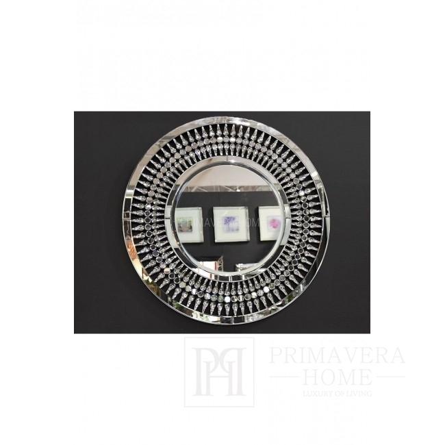 New Yorker Stil gerundet dekorative Spiegel Glamour Kristall