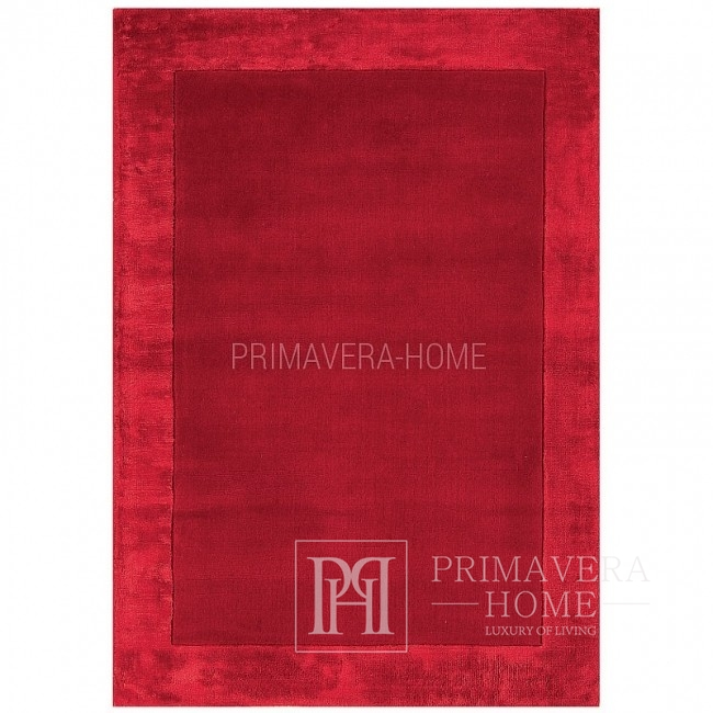 Carpet Isandro in red