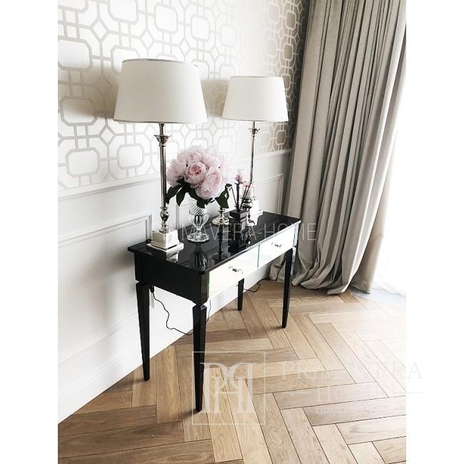 Spiegelkonsole ELEGANCE Glamour New York schwarz weiß